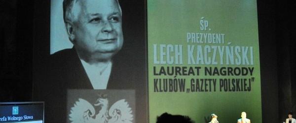 Człowieka Roku 2010 Klubów Gazety Polskiej