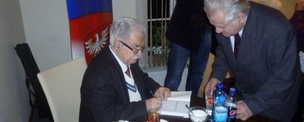 Profesor Jerzy Robert Nowak w Nowym Dworze Mazowieckim