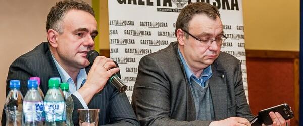 """Spotkanie z red. nacz. """"Gazety Polskiej"""" Tomaszem Sakiewiczem"""