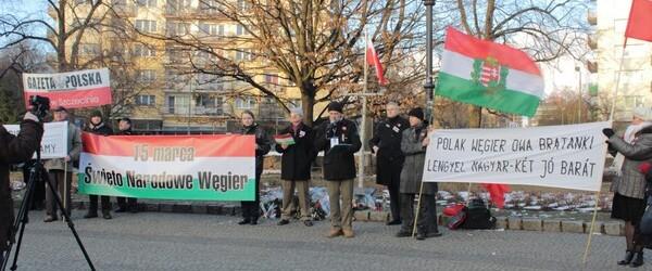 15 marca 2013 – II Szczeciński Marsz Solidarności z Węgrami