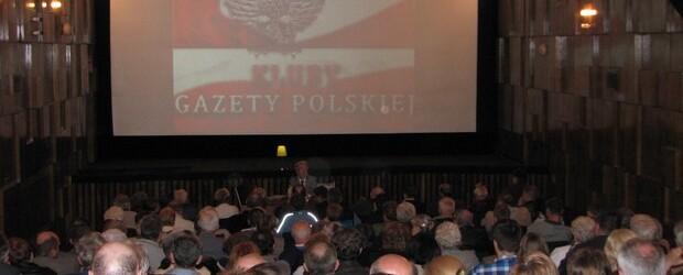 """Wykład """"Polska i zagrożenia polskości"""" Prof. Jerzego Roberta Nowaka w Andrychowie II"""