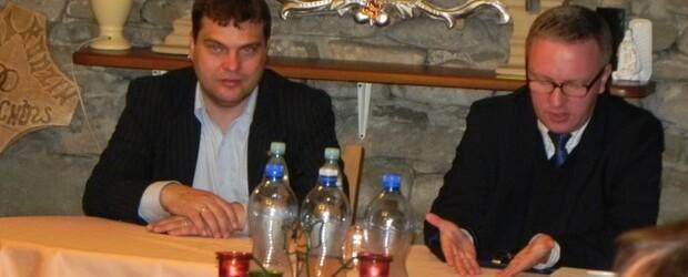 Poseł Krzysztof Szczerski w Andrychowie II