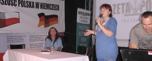 "Red. Dorota Kania oraz Joanna Lichocka na spotkaniu w Klubie ""GP"" Berlin-Brandenburg."