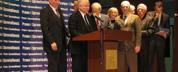 Jarosław Kaczyński w Gostyninie