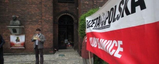 Gliwice – 10 maj 2013 r. – 35. miesięcy po tragedii smoleńskiej