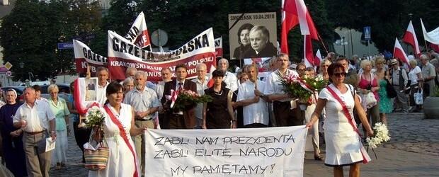 Kraków – 10 lipca 2013 r. – 39 miesięcy po tragedii smoleńskiej (wideo)