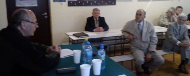 Spotkanie z Krzysztofem Bzdylem w Nowej Hucie Kraków