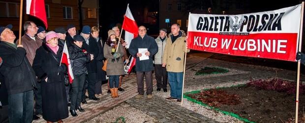 Lubin – 10 marca 2013 – 35. miesięcy po tragedii smoleńskiej