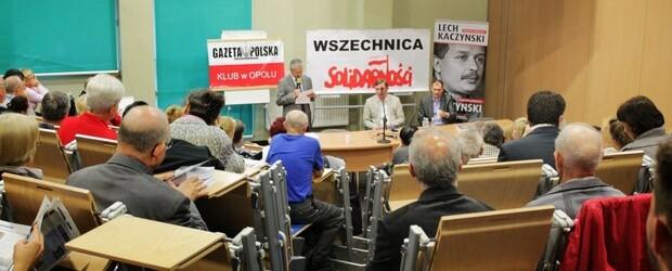 Sławomir Cenckiewicz na Uniwersytecie Opolskim (wideo, audio)