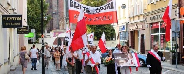 Opole – 10 lipca 2013 r. – 39 miesięcy po tragedii smoleńskiej