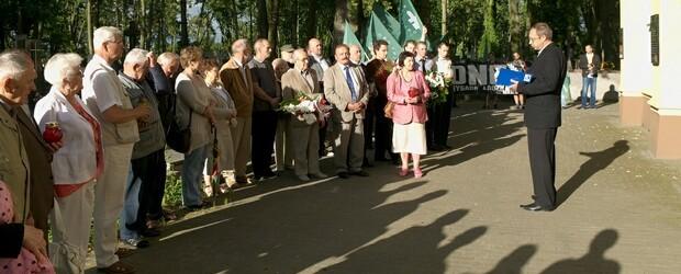 Pabianice – 10 lipca 2013 r. – 39 miesięcy po tragedii smoleńskiej oraz uroczyste oddanie hołdu Rodakom z Wołynia w Pabianicach
