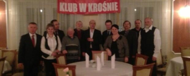 Spotkanie noworoczne z Janem Pospieszalskim w Rzeszowie.