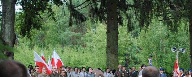 Uroczystości patriotyczno-religijne w Suchawie