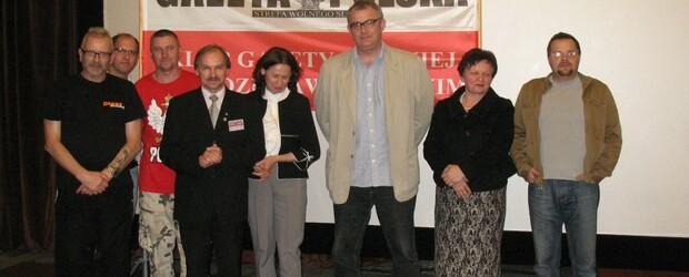 """Projekcja filmu """"BUNT STADIONÓW"""" oraz spotkanie z reżyserem Mariuszem Pilisem w Wodzisławiu Śląskim"""