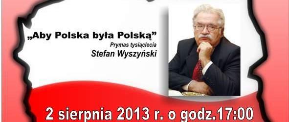 Zielona Góra – spotkanie z prof. Jerzym Robertem Nowakiem, 2 sierpnia, g. 17,