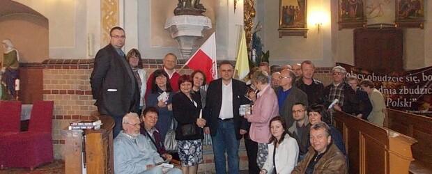 Spotkanie Tomasza Sakiewicza oraz Pawła Piekarczyka w Świdnicy