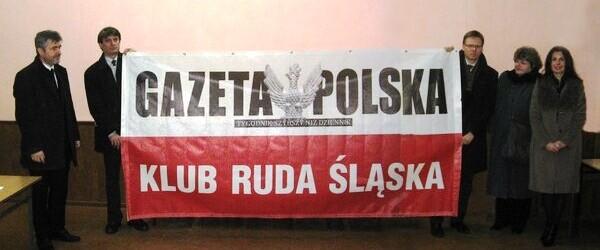 """Spotkanie Klubu """"Gazety Polskiej"""" w Rudzie Śląskiej"""