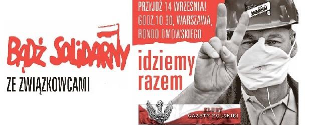 Idziemy razem z Solidarnością – 20.08.2013 r.
