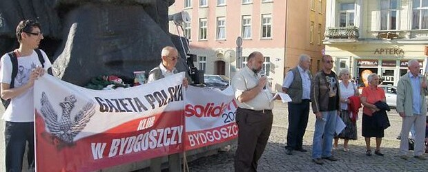 Bydgoszcz – 10 sierpień 2013 r. – 40 miesięcy po tragedii smoleńskiej