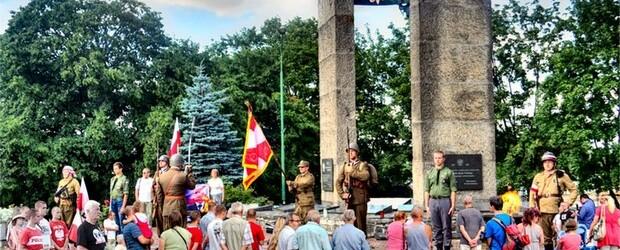 Powstanie Warszawskie – uroczystości w Dzierżoniowie
