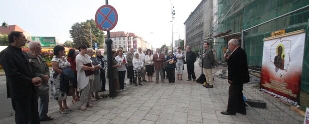 Gliwice – 10 sierpień 2013 r. – 40 miesięcy po tragedii smoleńskiej