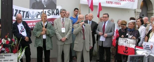 Kraków – 10 sierpień 2013 r. – 40 miesięcy po tragedii smoleńskiej (wideo)