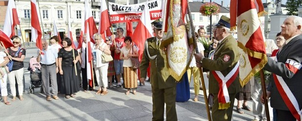 69. rocznica wybuchu Powstania Warszawskiego w Piotrkowie Trybunalskim