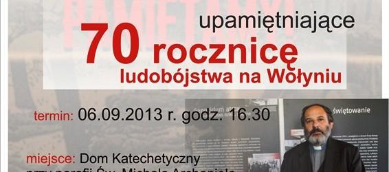 Ruda Śl. – spotkanie autorskie z ks. Tadeuszem Isakowiczem-Zaleskim, 6 września, g. 16.30