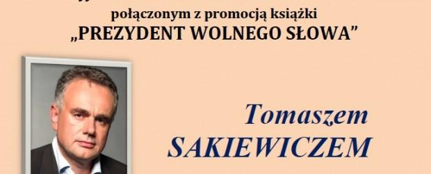 Wodzisław Śl. – spotkanie z red. nacz. Gazety Polskiej Tomaszem Sakiewiczem 4 września…