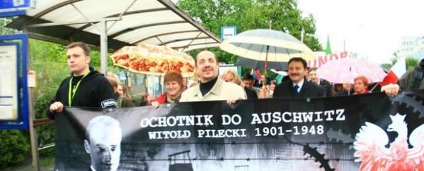 Marsz im.Rotmistrza Witolda Pileckiego.