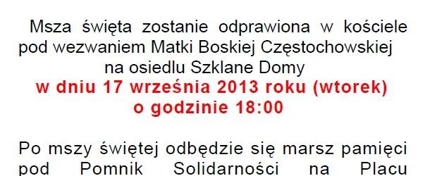 Kraków – uroczystość w hołdzie Polskim Ofiarom rosyjskiej inwazji 1939 roku, 17 września, g. 17