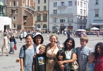 Grupa młodych artystów z Los Angeles w Polsce