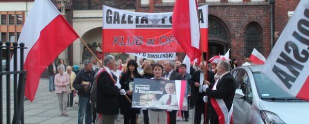 Opole – 10 września 2013 r. – 41 miesięcy po Tragedii Smoleńskiej