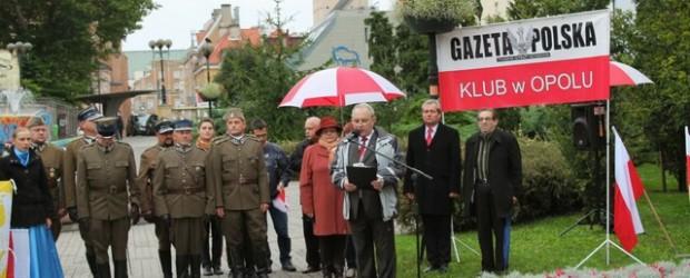74. rocznica napaści sowieckiej na Polskę w Opolu (wideo)
