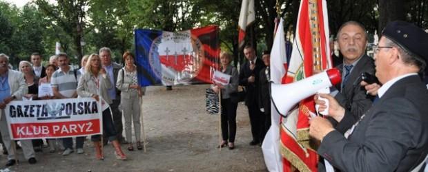 Uroczystości 33r Solidarności 74 r wybuchu II wojny światowej – Paryż
