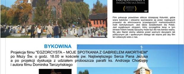 Ruda Śl –  projekcje filmów oraz spotkanie z reż. D. Tarczyńskim – 21 września…