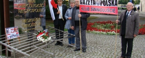 W hołdzie Ofiarom zdradzieckiej napaści Związku Radzieckiego na Polskę – Świnoujście
