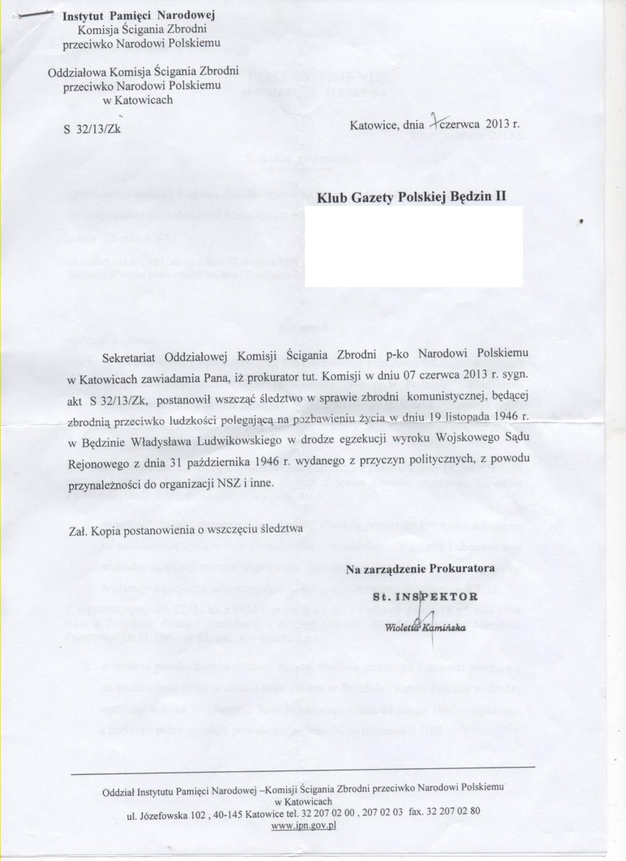 BedzinII_List