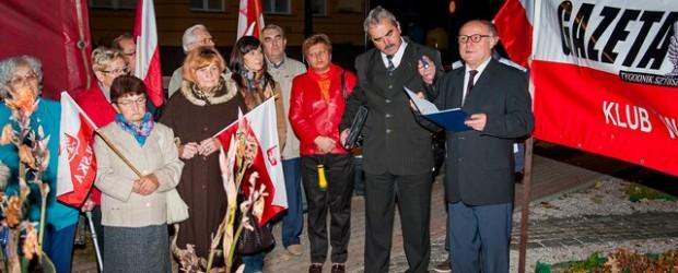 Lubin – 10 października 2013 r. – 42 miesiące po Tragedii Smoleńskiej.
