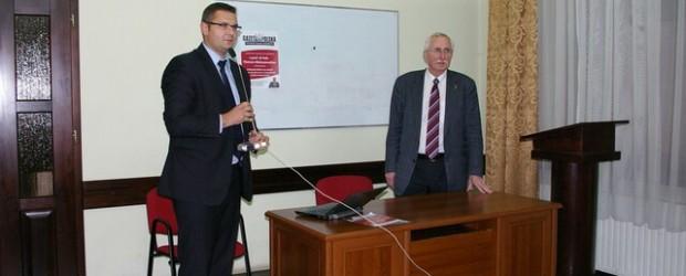 O Polakach w Niemczech – spotkania z prof. Małoszewskim w Myślenicach