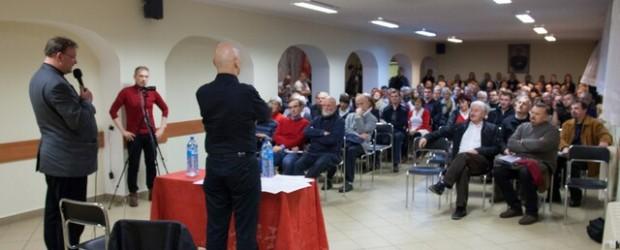 W Pile odbyło się spotkanie z p. Leszkiem Żebrowskim.
