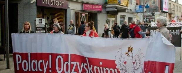 Poznań – 10 października 2013 r. – 42 miesiące po Tragedii Smoleńskiej