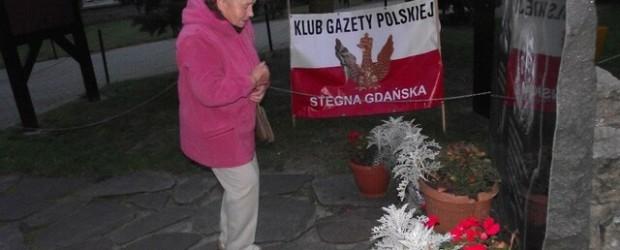 Stegna Gd. – 10 października 2013 r. – 42 miesiące po Tragedii Smoleńskiej