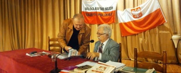 Spotkanie z prof. Jerzym Robertem Nowakiem we Włocławku