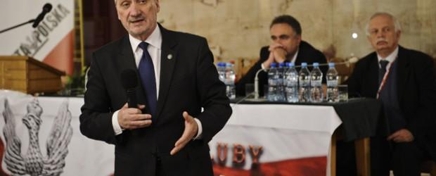 RACIBÓRZ – SPOTKANIE ODWOŁANE spotkanie z posłem na Sejm RP, Antonim Macierewiczem, 9 maja