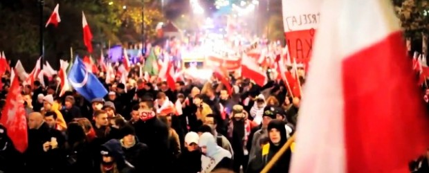 Święto Niepodległości – relacje wideo (Kraków, Warszawa, Szczecin, Kielce…)