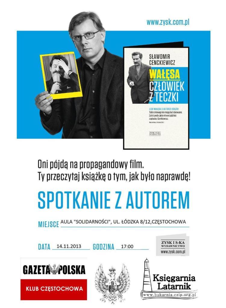 Czestochowa_Cenckiewicz_plakat