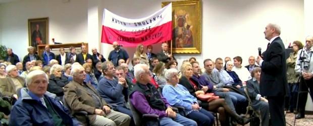 Ogromne zainteresowanie spotkaniami z Antonim Macierewiczem w Filadelfii (wideo)