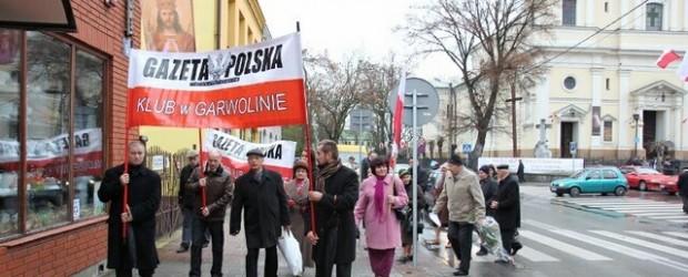 Garwolin – 10 listopada 2013 r. – 43 miesiące po Tragedii Smoleńskiej