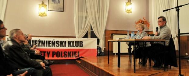 Spotkanie ze Sławomirem Cenckiewiczem w Gnieźnie.